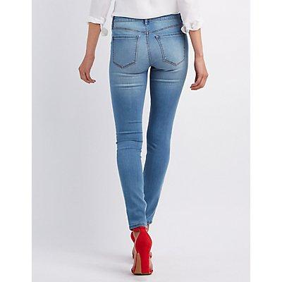 Refuge Skin Tight Legging Jeans