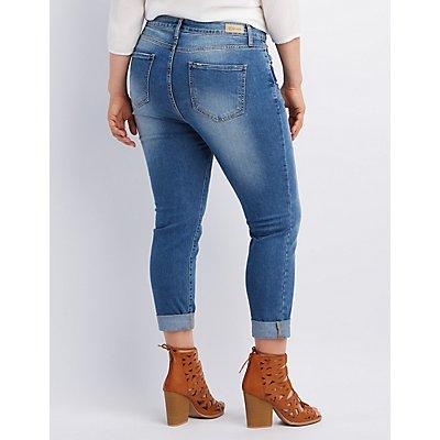 Cello Medium Wash Skinny Jeans