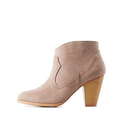 Western Ankle Booties
