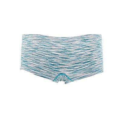 Seamless Space Dye Boyshort Panties