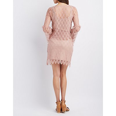 Sans Souci Lace Top & Skirt Hook-Up