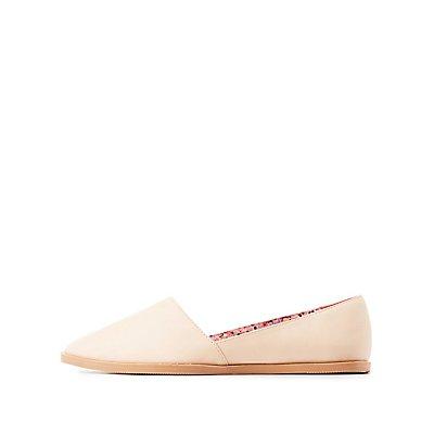 Qupid Slip-On Flats