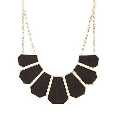 Chevron Collar Necklace