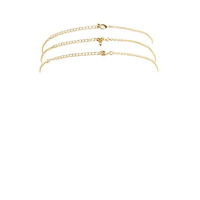 Layering Choker Necklace - 3 Pack