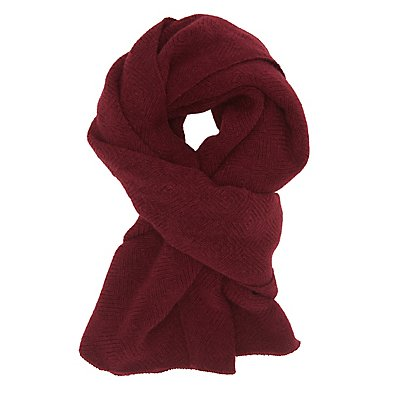 Diamond Weave Oblong Scarf