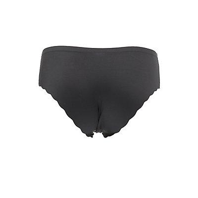 Scalloped Cheeky Panties
