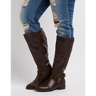 Wide Width Riding Boots