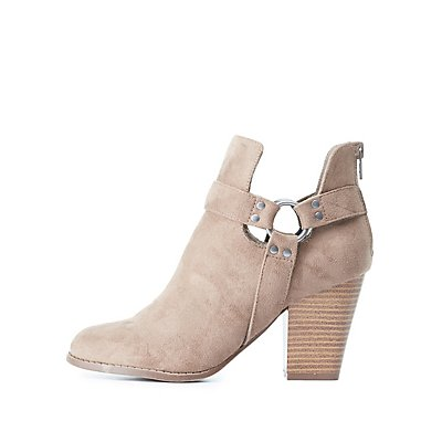 Harness Ankle Booties