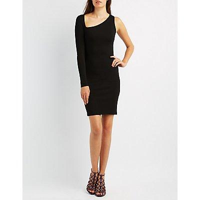 One-Shoulder Bodycon Dress