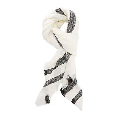 Varsity Stripe Blanket Scarf