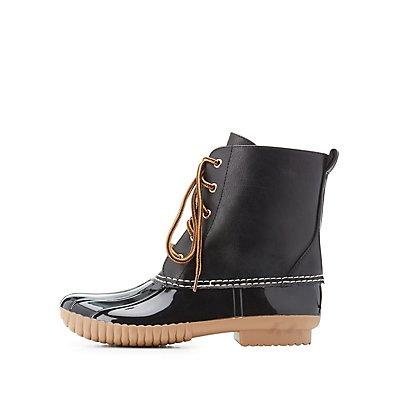 Waterproof Duck Boots