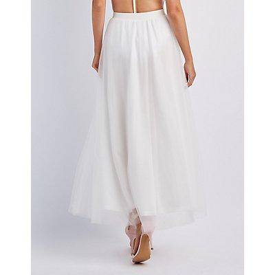 Tulle Full Maxi Skirt