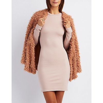 Cut-Out Back Bodycon Dress