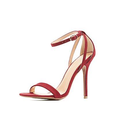 Strappy Three-Piece Dress Sandals