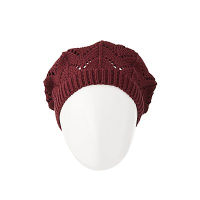 Slouchy Knit Beret