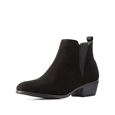 Side Gore Ankle Booties