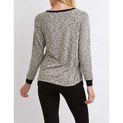 Hacci Ringer Sweatshirt