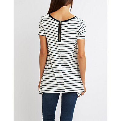 Striped Swing Tee