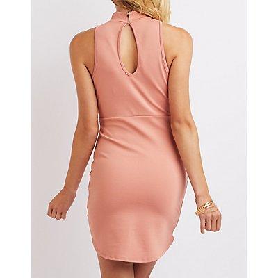 Choker Detail Bodycon Dress