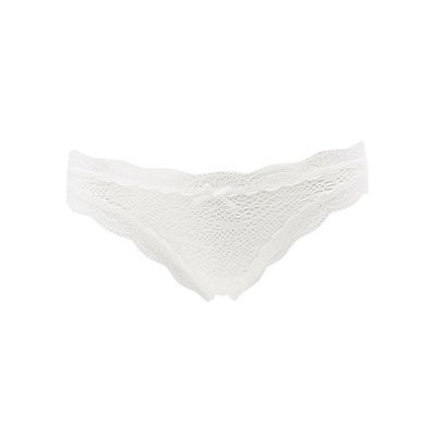 Floral Lace Thong Panties