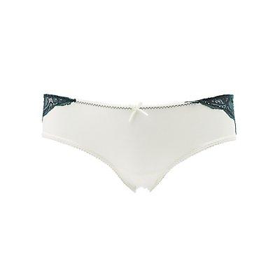 Sheer Back Cheeky Panties