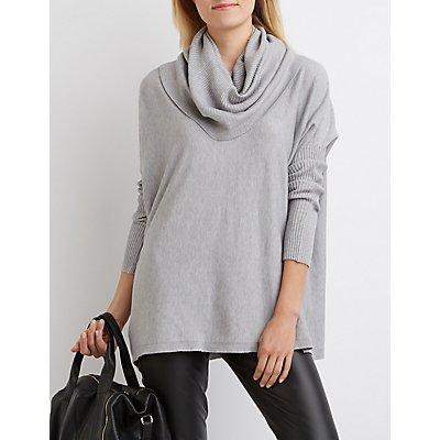 Cowl Neck Oversized Sweater