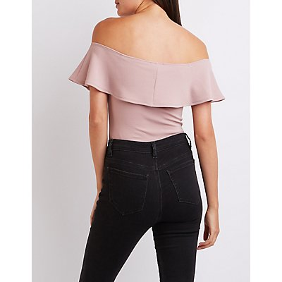 Tiered Off-The-Shoulder Top