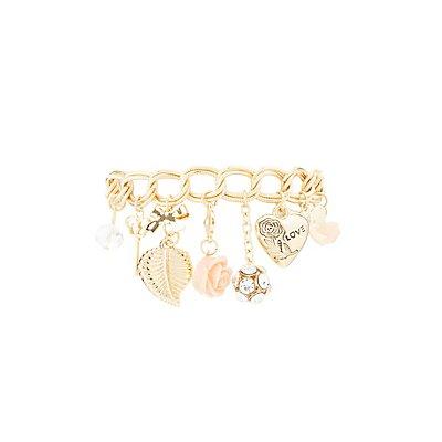 Chainlink Charm Bracelet