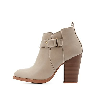 Belted Ankle Booties