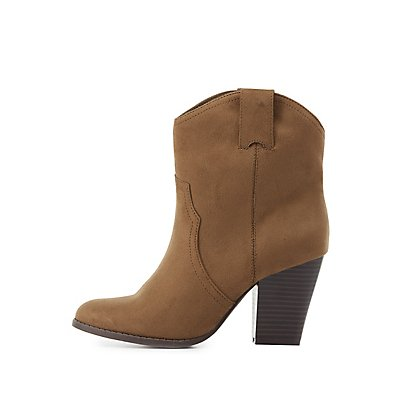 Western Ankle Booties