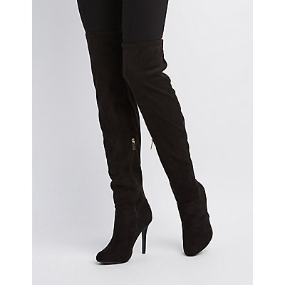 Over-The-Knee Stiletto Boots