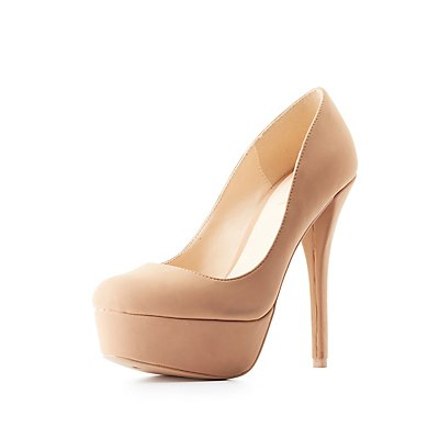 Qupid Platform Pumps