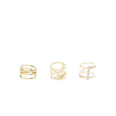 Velvet Choker Necklaces & Rings Set