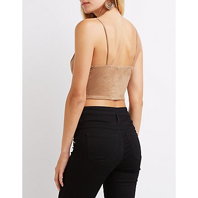 Laser Cut Crop Top