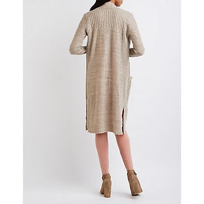 Cable Knit Duster Cardigan