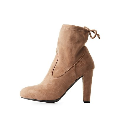 Tie-Back Ankle Booties