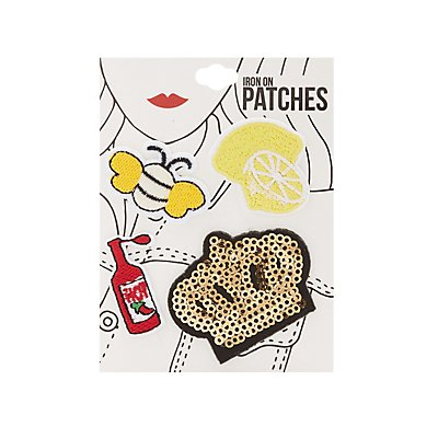 Assorted Patch Set - 4 Pack