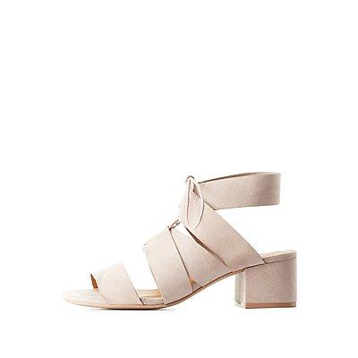 Bandage Lace-Up Sandals
