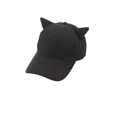Cat Ear Baseball Hat