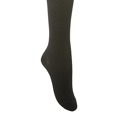 Varsity Stripe Thigh-High Socks