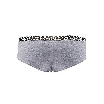 Stretch Waistband Hipster Panties
