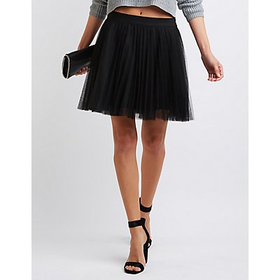 Tulle Full Skater Skirt