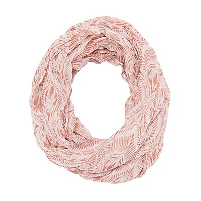 Printed Woven Infinity Scarf