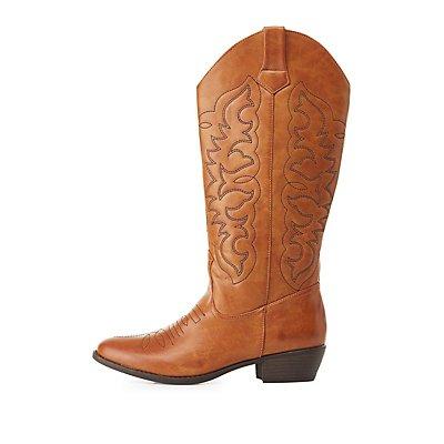 Qupid Cowboy Boots