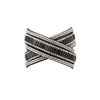 Embellished & Beaded Wrap Bracelet