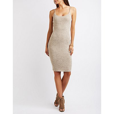 Hacci Bodycon Midi Dress