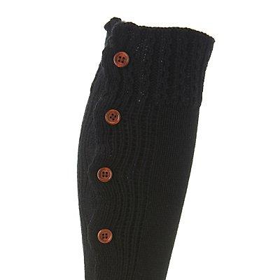 Button-Up Knit Leg Warmers