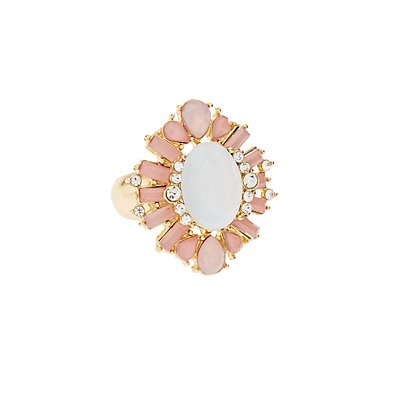 Plus Size Embellished Cocktail Ring