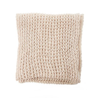 Metallic Knit Infinity Scarf