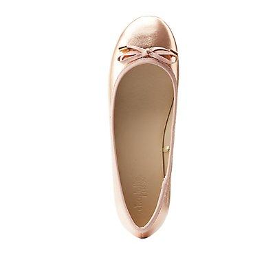 Metallic Ballet Flats